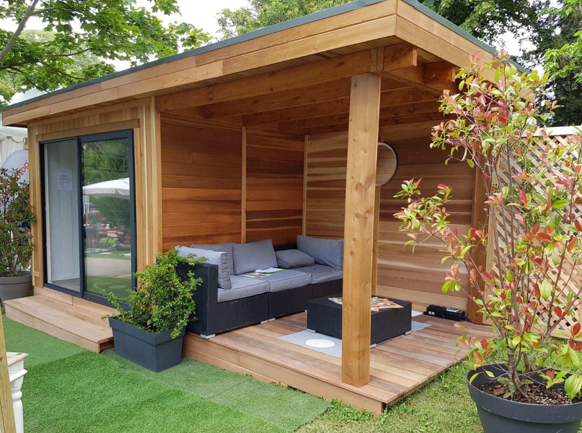 espace habitable studio de jardin extension bureau de. Black Bedroom Furniture Sets. Home Design Ideas