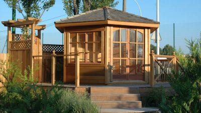 Kiosque Fermé en bois