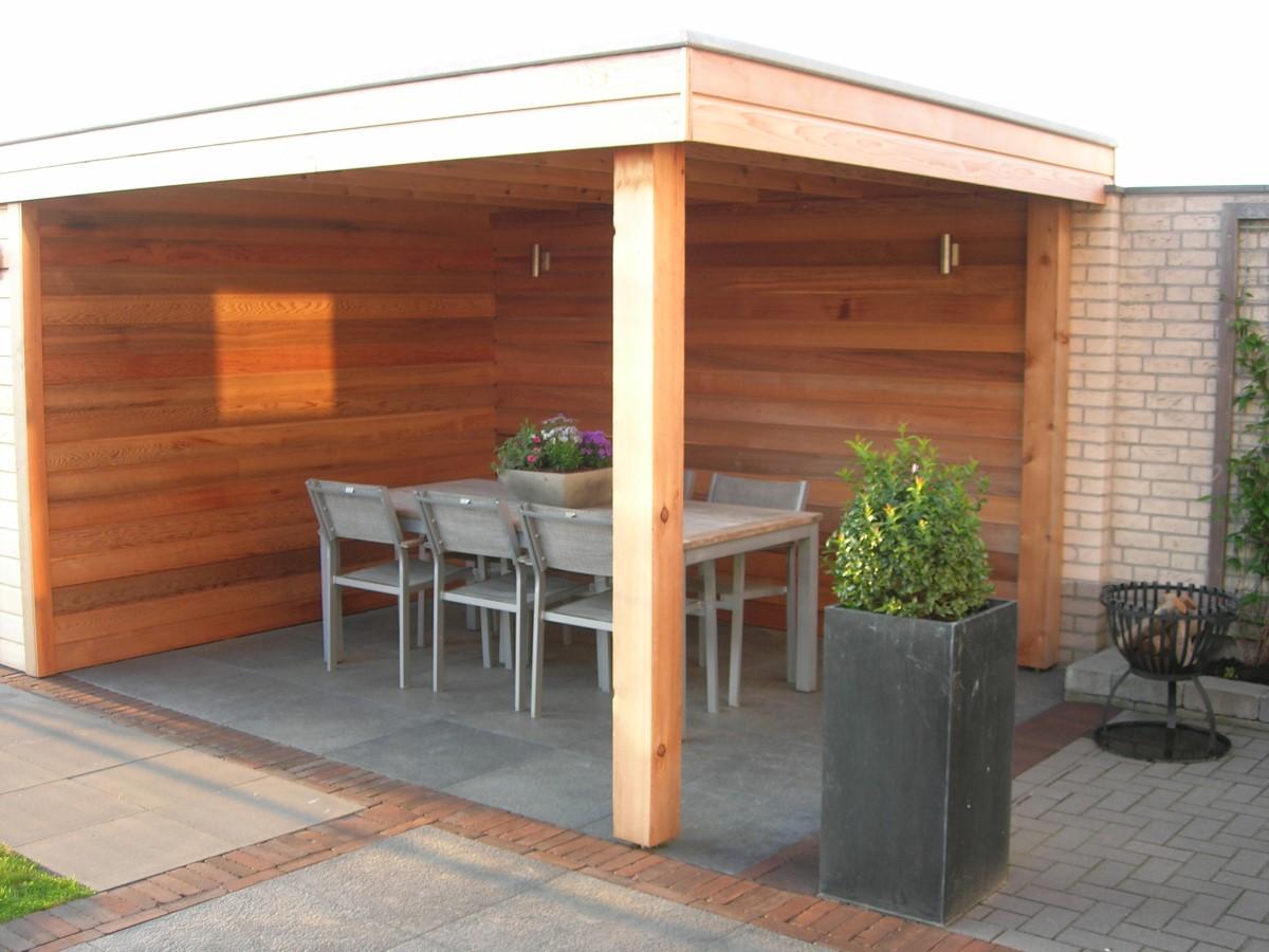 Terrasse Fermée En Bois terrasse bois, gazebo, auvent, gloriette, kiosque jardin